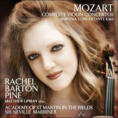 Rachel Barton Pine / Neville Marriner 모차르트: 바이올린 협주곡, 신포니아 콘체르탄테 (Mozart: Violin Concertos, Sinfonia Concertante)
