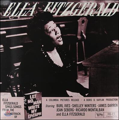 Ella Fitzgerald (엘라 피츠제럴드) - Let No Man Write My Epitaph [2LP]