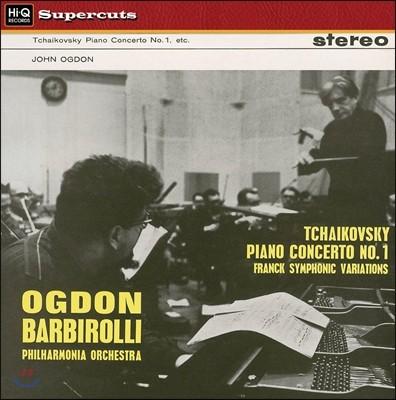 John Ogdon / John Barbirolli 차이코프스키: 피아노 협주곡 1번 / 프랑크: 교향적 변주 (Tchaikovsky: Piano Concerto / Franck: Symphonic Variations)