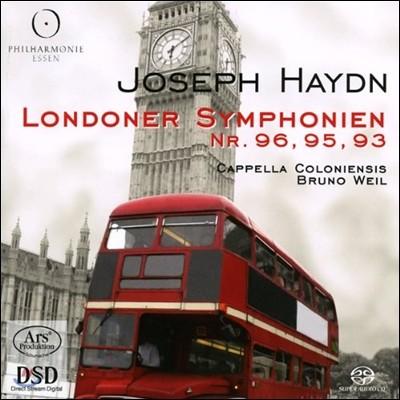 Bruno Weil 하이든: 런던 교향곡 96, 95, 93번 (Haydn: London Symphonies)