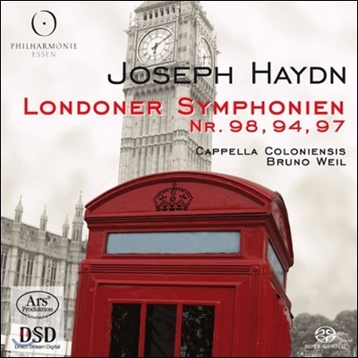 Bruno Weil 하이든: 런던 교향곡 (Haydn: London Symphonies Nos. 98, 94, 97)