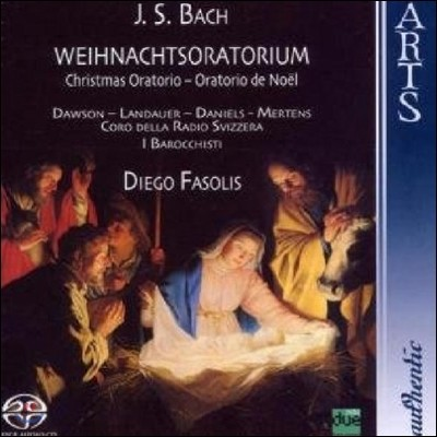 Diego Fasolis 바흐: 크리스마스 오라토리오 (Bach: Christmas Oratorio BWV248)