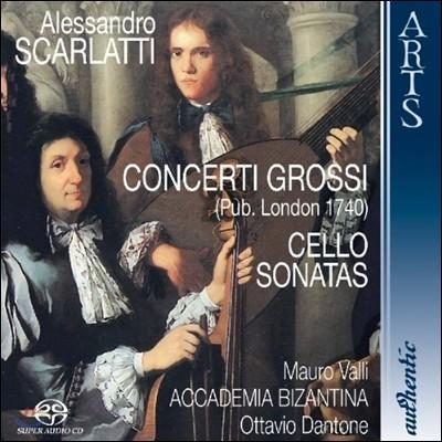 Ottavio Dantone 알레산드로 스카를라티: 콘체르토 그로소 [1740 런던 판본], 첼로 소나타 (A. Scarlatti: Concerto Grosso, Cello Sonatas)