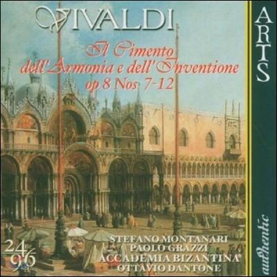Ottavio Dantone 비발디: 화성과 창의의 시도 7-12번 (Vivaldi: Il Cimento dell'Armonia e dell'Inventione Op.8)