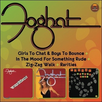 Foghat - Girls To Chat & Boys To Bounce & In The Mood For Something Rude & Zig-Zag Walk (Deluxe Edition)