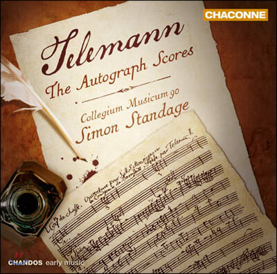 Simon Standage 텔레만: 자필 악보 - 서곡, 디베르티멘토 (Telemann: The Autograph Scores - Overtures, Divertimento)