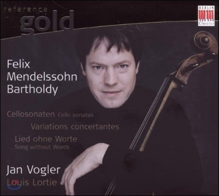 Jan Vogler 멘델스존: 첼로 소나타, 협주 변주곡, 무언가 - 얀 포글러 (Mendelssohn: Cello Sonatas, Variations Concertantes, Song Without Words)