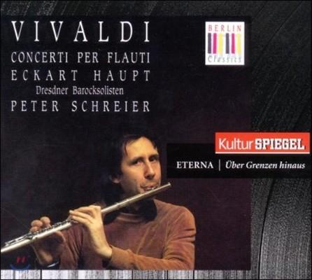 Eckart Haupt 비발디: 플루트와 리코더 협주곡 (Vivaldi: Flute Concertos)
