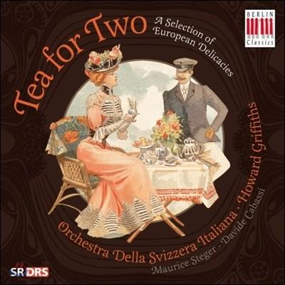 Howard Griffiths 두 사람을 위한 차 - 이베르 / 엘가 / 생상스 / 쇼스타코비치 (Tea for Two - Ibert / Elgar / Saint-Saens / Shostakovich)