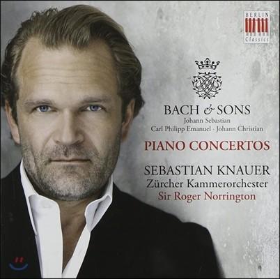 Sebastian Knauer 바흐와 아들들 1집 - 바흐 / 칼 필립 엠마누엘 / 요한 크리스티안 바흐: 피아노 협주곡 (Bach & Sons - J.S. / C.P.E. / J.C. Bach: Piano Concertos)
