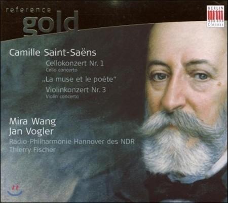 Jan Vogler / Mira Wang 생상스: 첼로 협주곡 1번, 뮤즈와 시인 - 얀 포글러 (Saint-Saens: Cello Concerto, La Muse & le Poete)