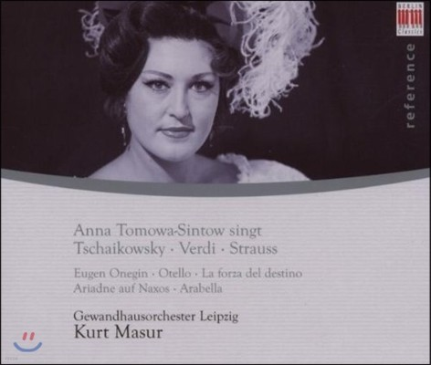 Anna Tomowa-Sintow 차이코프스키 / 베르디 / 슈트라우스: 오페라 아리아 (Tchaikovsky / Verdi / R. Strauss: Opera Arias)
