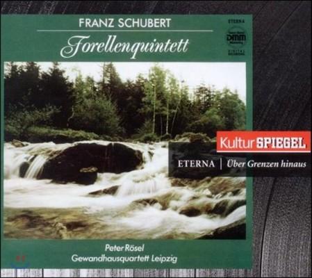 Peter Rosel 슈베르트: 피아노 오중주 '송어', 아다지오와 론도 (Schubert: Piano Quintet Trout D667, Adagio e Rondo D487)