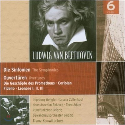 Franz Konwitschny 베토벤: 교향곡, 서곡, 프로메테우스, 코리올란 (Beethoven: Symphonies, Overtures, Prometheus, Coriolan)