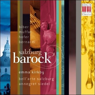 Emma Kirkby 잘츠부르크 바로크 - 비버 / 무파트 / 호퍼 / 베르나르디 (Salzburg Barock - Biber / Muffat / Hofer / Bernardi)