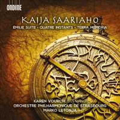 사리아호: 소프라노를 위한 작품집 (Saariaho: Quatre Instants, Terra Memoria & Emilie Suite) - Marko Letonja