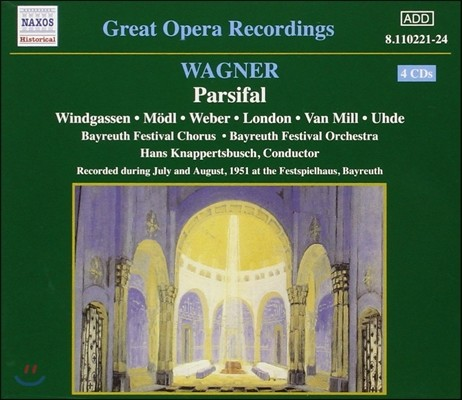 Hans Knappertsbusch 바그너: 파르지팔 (Great Opera Recordings - Wagner: Parsifal)