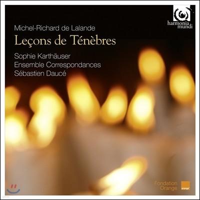 Ensemble Correspondances 랄랑드: 르송 드 테네브르 (Michel-Richard de Lalande: Lecons de Tenebres)