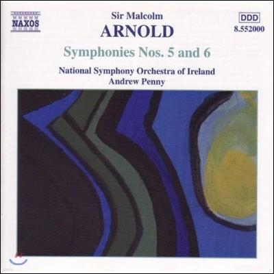 Andrew Penny 아놀드: 교향곡 5번, 6번 (M. Arnold: Symphonies No.5, No.6)