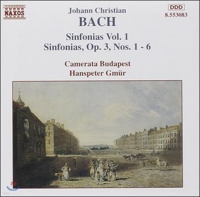 Camerata Budapest 요한 크리스티안 바흐: 신포니아 1집 (J. C. Bach: Sinfonias Op.3 Nos.1-6)