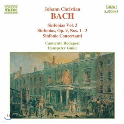 Camerata Budapest 요한 크리스티안 바흐: 신포니아 3집 (J. C. Bach: Sinfonias Op.9 Nos.1-3, Sinfonie Concertanti)