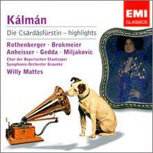 Kalman : The Gypsy Princess - Highlights : Mattes