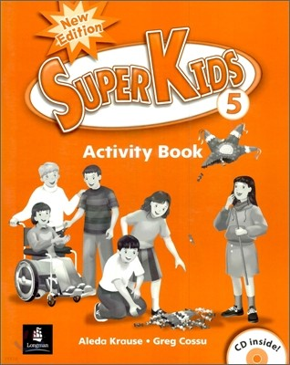 New Super Kids 5 : Activity Book with CD