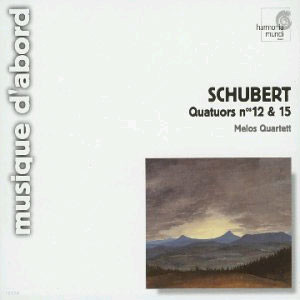 Schubert : String Quartet No.12 & No.15 : Melos Quartett