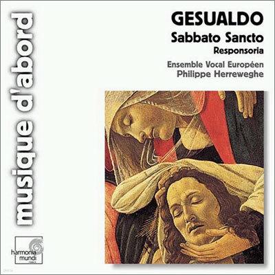 Philippe Herreweghe 제수알도: 사바토 상토, 모테트 / 골리: 레퀴엠 (Gesualdo: Sabbato Sancto, Responsoria / Gorli: Requiem) 필립 헤레베헤