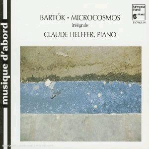 Bartok : Mikrokosmos : Claude Helffer