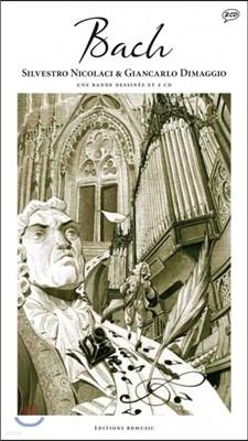 Bach (일러스트 by Silvestro Nicolaci & Giancarlo Dimaggio) : 미술과 음악이 공존하는 아트 클래식 '바흐'