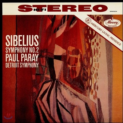 Paul Paray 시벨리우스: 교향곡 2번 (Sibelius: Symphony No 2 in D)