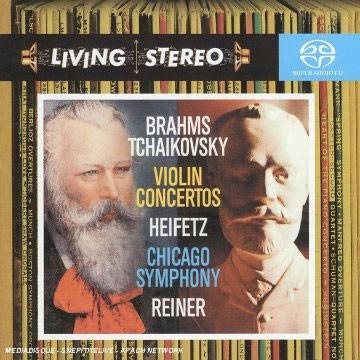Jascha Heifetz 차이코프스키 / 브람스 : 바이올린 협주곡 (Brahms / Tchaikovsky : Violin Concerto) 야사 하이페츠 (SACD)
