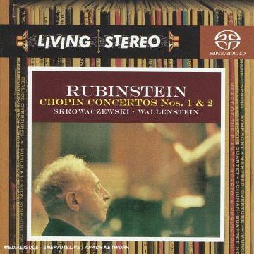 Arthur Rubinstein 쇼팽: 피아노 협주곡 1번, 2번 - 아르투르 루빈스타인 (Chopin: Piano Concertos)
