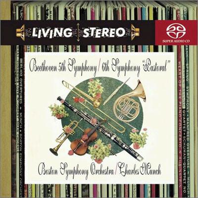 Charles Munch 베토벤: 교향곡 5ㆍ6번 (Beethoven : Symphony No.5ㆍNo.6) 샤를 뮌시
