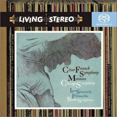 Pierre Monteux 프랑크: 교향곡 / 스트라빈스키: 페트루슈카 - 피에르 몽퇴 (Franck : Symphony / Stravinsky)