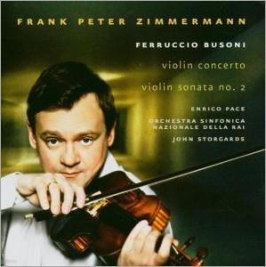 Busoni : Violin ConcertoㆍViolin Sonata  : Frank Peter Zimmermann