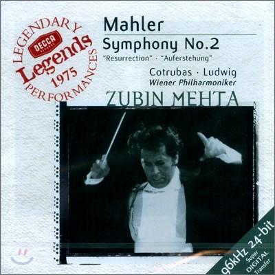 Zubin Mehta 말러 : 교향곡 2번 '부활' (Gustav Mahler: Symphony No.2 in C minor - 'Resurrection')