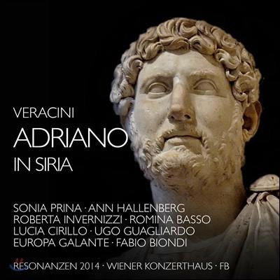 Fabio Biondi 베라치니: 오페라 '시리아의 아드리아노' (Veracini: Adriano in Siria)