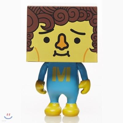 미카 토푸 피규어(두부브릭) Mika To-fu Blue tee 높이 2인치(약 5cm)