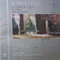 프로코피에프 : 피아노 협주곡 1번, 4번, 5번 - 로체스트벤스키, 포스트니코바