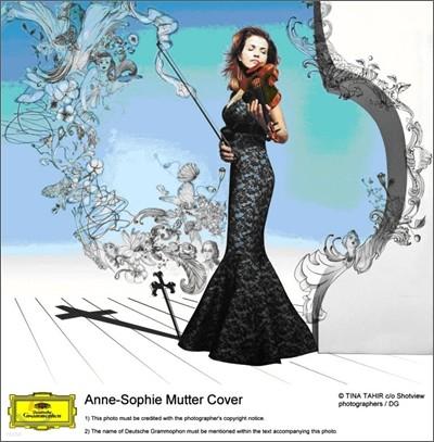 모차르트 : 바이올린 협주곡 & 신포니아 콘체르탄테 - 소피 무터