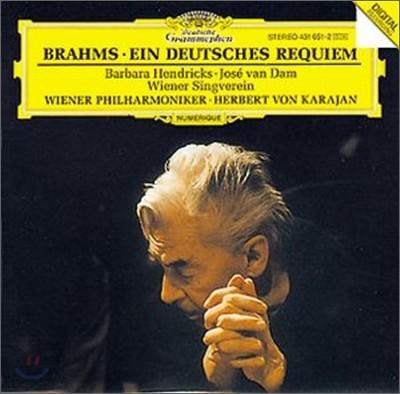 Herbert Von Karajan 브람스 : 독일 레퀴엠 (Brahms : A German Requiem) 헤르베르트 폰 카라얀