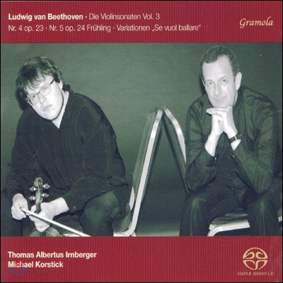 Thomas Albertus Irnberger 베토벤: 바이올린 소나타 3집 - 4번, 5번 '봄' (Beethoven: Violin Sonatas Vol. 3)