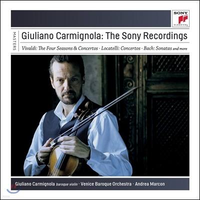 줄리아노 카르미뇰라 소니 레코딩 전집 (Giuliano Carmignola - The Sony Recordings)