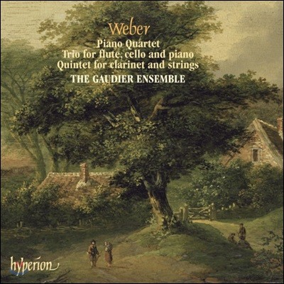 The Gaudier Ensemble 베버: 클라리넷 5중주, 피아노 4중주, 트리오 (Weber: Chamber Works)