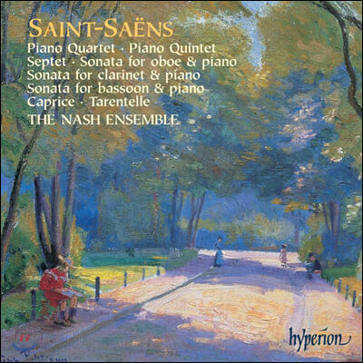 Nash Ensemble 생상스 : 실내악 작품집 (Saint-Saens : Chamber Music)
