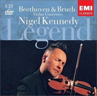베토벤 / 브루흐 : 바이올린 협주곡 - 나이젤 케네디