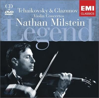 Nathan Milstein - Tchaikovsky & Glazunov