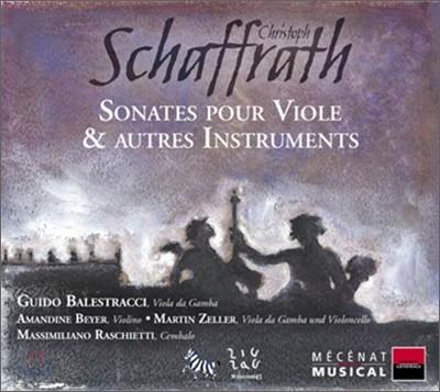 Schaffrath : Viola Da Gamba Sonata : Guido Balestracci
